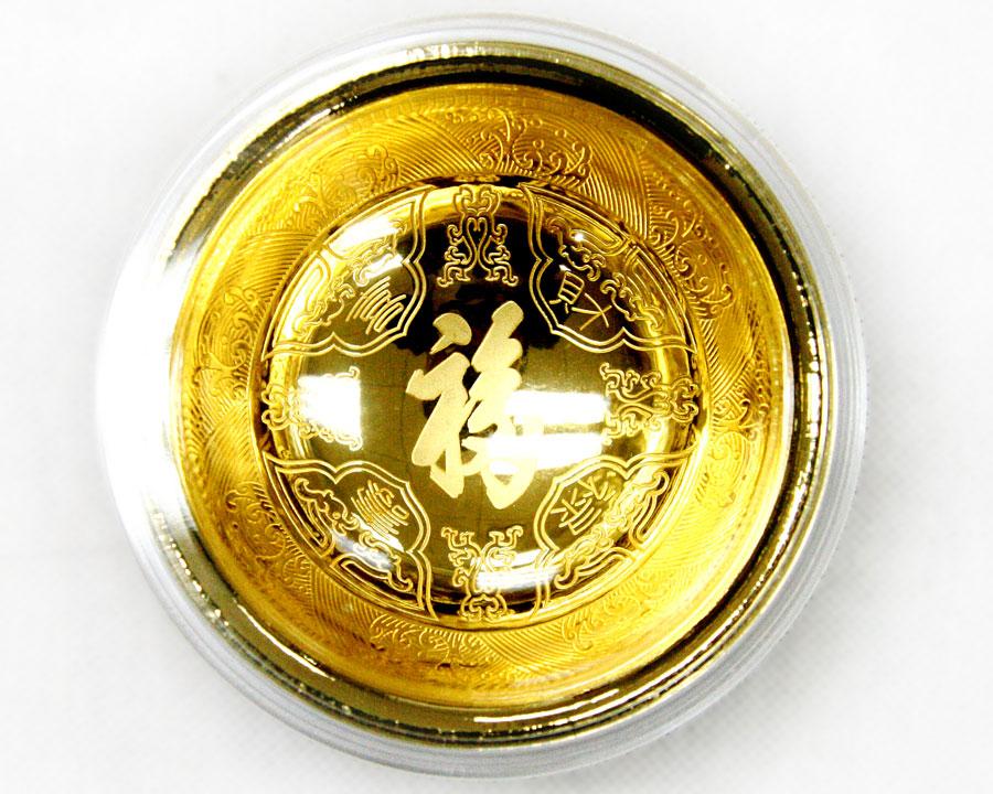 九龙聚福金碗